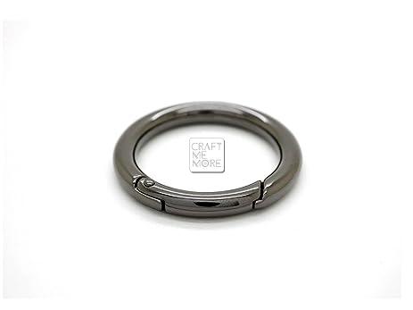 Amazon.com: CRAFTMEmore 4PCS 3/4 INCH Tiny O Rings Snap Clip Trigger ...