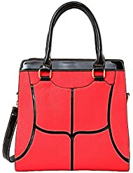 Mellow World Fashion Bianca Tote, Red, One Size
