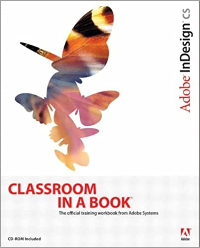 Indesign Classroom In A Book