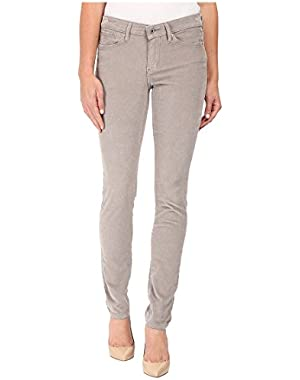 Calvin Klein Jeans Women's Garment Dyed Ultimate Skinny Corduroy Pant, Steeple Gray, 27/4 Regular