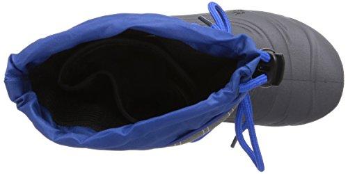 Jack Wolfskin SNOWPACKER Unisex-Kinder Warm gefütterte Schneestiefel Blau (classic blue 1127)
