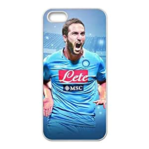Napoli Gonzalo Higuain iPhone 4 4s Cell Phone Case White yyfabd-247149