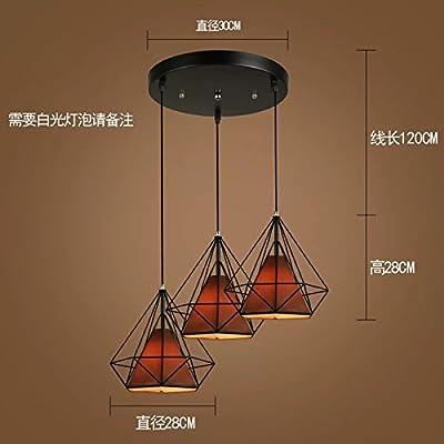 Luckyfree Simple Corde Pendentif Création Lumière Chambres Bar Café