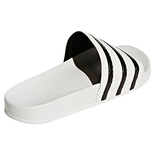 Blanc Sandales Mixte Adulte 280647 Originals Adilette Adidas B1qYff