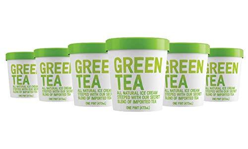 Mr. Green Tea - Green Tea Ice Cream 6 Pint Pack (Best Green Tea Ice Cream)