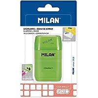 MILAN- Compact Fluo Gomas de Borrar, Color Blanco, pequeño (MBYM10380)