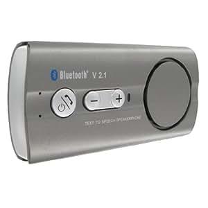 Bluechip World - Unidad Bluetooth para la visera del coche