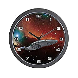 CafePress StarTrek Voyager Horsehead Unique Decorative 10 Wall Clock