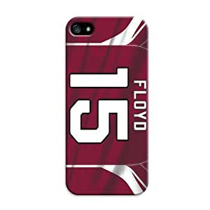iphone 5 5s Protective Case,Fashion Popular Arizona Cardinals Designed iphone 5 5s Hard Case/Nfl Hard Case Cover Skin for iphone 5 5s