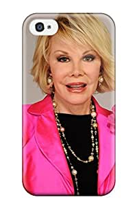 Audunson Perfect Tpu Case For Iphone 4/4s/ Anti-scratch Protector Case (joan Rivers Photo )