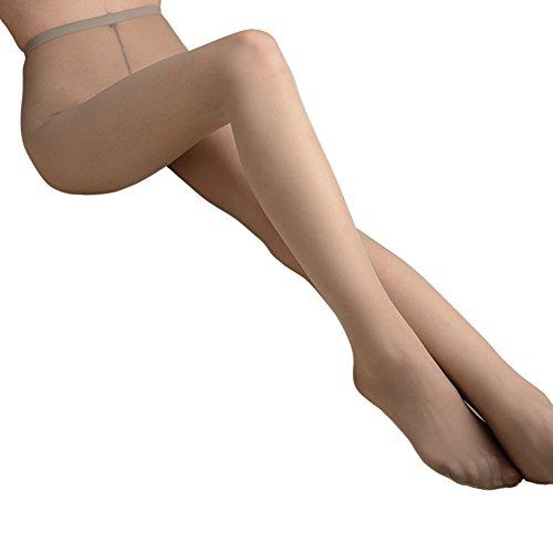 Blostirno Women's Soft Tights Ultra-sheer Pantyhose (15 Den Light Gray US-S/M/ASIAN M/L) ()