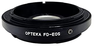 Opteka Canon FD (Manual Focus) Lens to Canon EOS EF (Auto Focus) Body Mount Adapter with Optical Elements (B001KM5K98) | Amazon price tracker / tracking, Amazon price history charts, Amazon price watches, Amazon price drop alerts