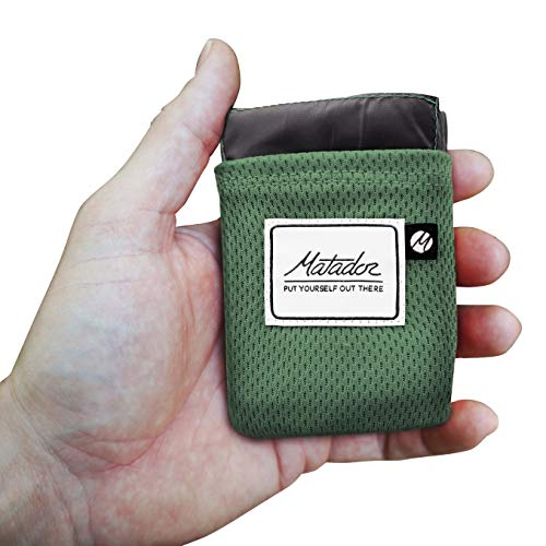 (Matador Pocket Blanket 2.0 New Version, Picnic, Beach, Hiking, Camping. Water Resistant with Built-in Ground Stakes (Alpine)