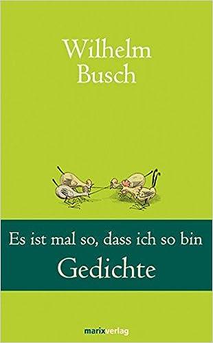 Wilhelm busch gedichte kochen