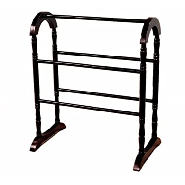 Frenchi Home Furnishing Quilt Rack, Espresso