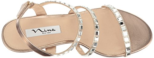 Naleigh a Wedge Sandal Women's Fy Blushtaupe Nina qxS50wR