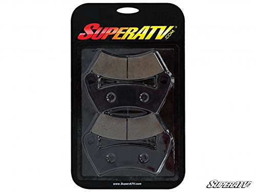 SuperATV Brake Pads for Polaris General/RZR 800 4/RZR 900/RZR 900 4/RZR XP 1000/RZR XP 1000 4/RZR XP Turbo/RZR Turbo S - (BP-P-010)