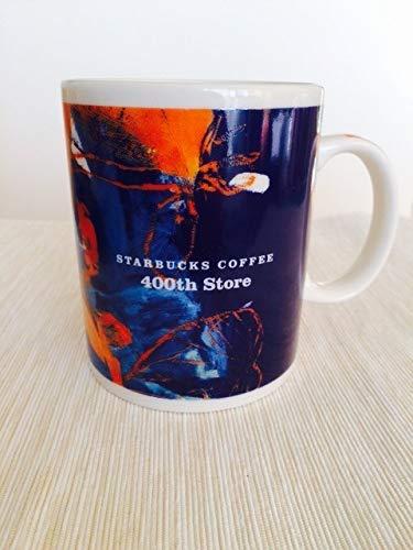 【超希少】スターバックス マグカップ 限定品 400店舗 出店記念 400th store JAPAN 旧ロゴ STARBUCKS スタバ 入手困難品 新品未使用 B07S75XRDZ