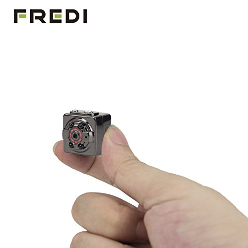 Amazon Lightning Deal 80% claimed: FREDI® HD 1080P Indoor/Outdoor Sport Portable Handheld Mini Hidden Spy Camera DV Voice Video Recorder with Infrared Night Vision,Video,PC Camera,Record,Take Photos,Motion Detecting,TF Card Slot