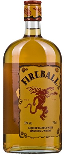 FireballLikör Blended With Cinnamon & Whisky (1 x 0.7 l)
