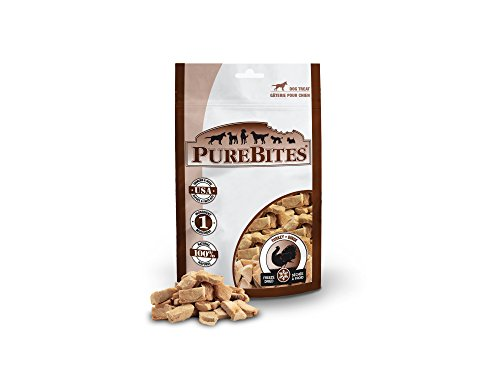 Liver Turkey Treats - Purebites Turkey For Dogs, 2.47Oz/ 70G - Mid Size