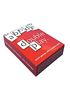 DOUBLE PLAY CARDS - WORD GAMES WITH A WACKY TWIST: Finders Stealers, Solitaire Dare, The Final Word and Word Wars I.II.III