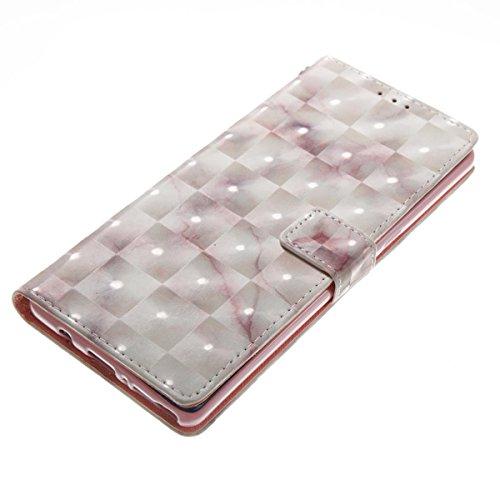 Funda Samsung Galaxy Note 8, Beige Funda Libro de Cuero Flip Cover con TPU Case Interna Para Samsung Galaxy Note 8, Wallet Case con Soporte Plegable, Ranuras para Tarjetas y Billete