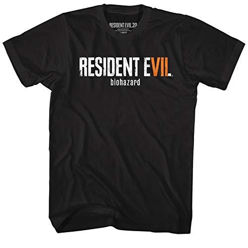 American Classics Resident Evil Horror Science Fiction Film Video Game Biohazard Adult T-Shirt 4X