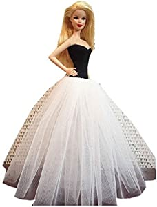 Barbie images black and white dress