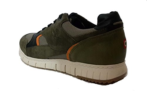 Aeronautica Militare Men's Trainers Green (Military Green) UwUQD5