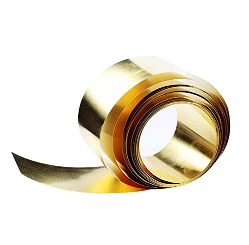 SUCAN L/ámina De L/ámina Delgada De Metal De Lat/ón Placa 0.02 X 100 X 1000 Mm