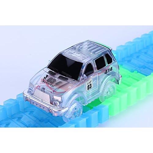 Voitures Flexible Jeep Circuit Codomoxo Style Le ® Pour Lumineuses qARLc543j