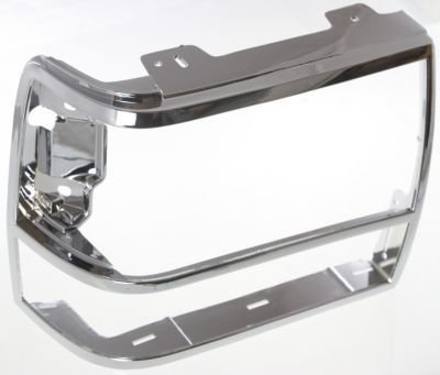 Evan-Fischer EVA18972011325 Headlight Door Single Passenger Side RH Grill Extension Grille headlamp (Ford Ranger Grille Extension)
