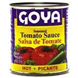 Goya Hot Tomato Sauce, 8-Ounce (Pack of 48)
