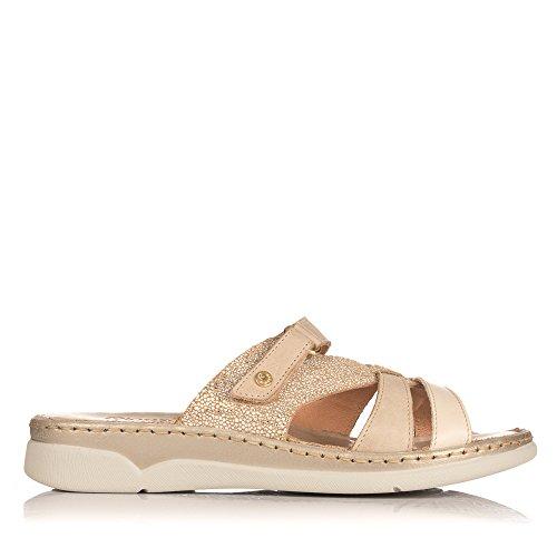 Riposella Women s 40731 Thong Sandals Beige Size  2  Amazon.co.uk  Shoes    Bags 05d2b041557