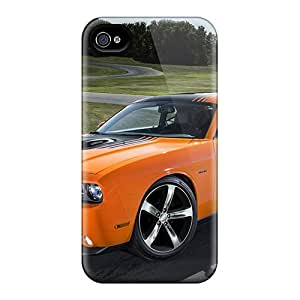 [oUNYwEE5124mJMig]premium Phone Case For Iphone 4/4s/ 2014 Dodge Challenger Rt Shaker Tpu Case Cover