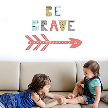 SHABI 1 UNID Kids Nursery Rooms Tatuajes de Pared Cotizaciones Be ...