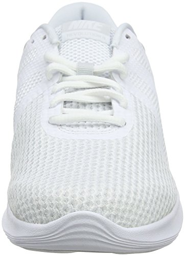 4 001 Revolution White NIKE Basse White da Pure Uomo Bianco Scarpe EU Platinum Ginnastica gaOSOc5qw