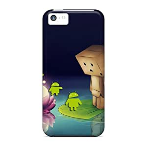 New Premium KYNKnlw501aWKCF Case Cover For Iphone 5c/ Danbo And Android Protective Case Cover by runtopwell