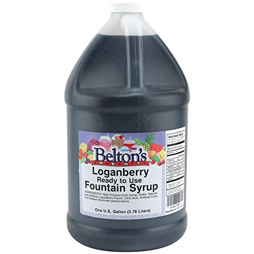(Loganberry Soda Pop Drink Syrup Concentrate - 1)