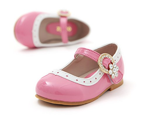 Jane Dress Little Shoes oz Flat Flats Girls Toddler Mary Ozkiz Pink Girls Bijou tqXFxwt1