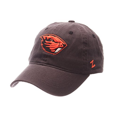 ZHATS NCAA Oregon State Beavers Men's Scholarship Relaxed Hat, Adjustable Size, Team Color
