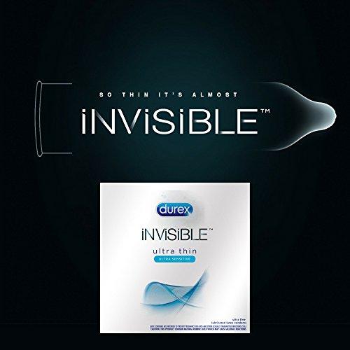Durex Invisible Condom, 16 ct & K-Y Liquid Lubricant 5 oz 1 ea