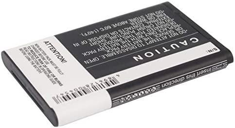 Replacement Battery Record for Nokia BL-5C 3.70Wh BL-5CA Li-ion 3,7v 1000mAh