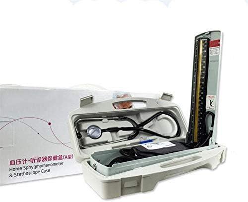 GJNVBDZSF Estetoscopio, Esfigmomanómetro Brazo Equipo médico Monitor de presión Arterial Estetoscopio Herramienta de Cuidado de la Salud en el hogar