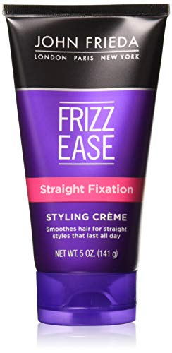 John Frieda Frizz Ease Straight Fixation Styling Creme, 5 Ounce Pack of 3