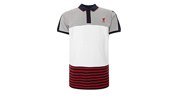 Liverpool FC - Polo de fútbol para Hombre, diseño de Rayas, Color ...