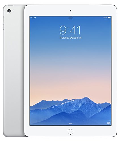 Apple au版 iPad Air 2 Wi-Fi Cellular 16GB [シルバー]白ロムの商品画像