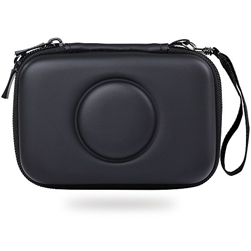 for Polaroid Snap Touch Instant Print Digital Camera - Hard EVA Storage Carrying Case Travel Bag for Polaroid Snap Camera - Black ()