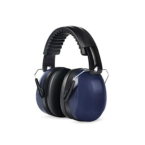 FS Professional Noise-proof Earmuffs, Soundproof Earmuffs Sleeping Sleep Anti-noise Mute Silencer Headphones Noise Reduction Ear Protector Noise Reduction 31 Decibels (Color : Upgrade blue) by FSHEZ (Image #4)